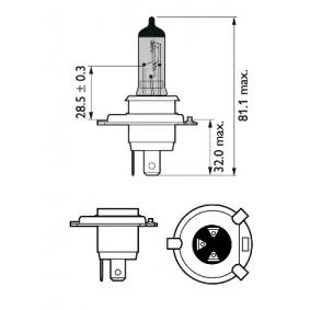 025816 für , Glühlampe, Fernscheinwerfer PHILIPS (12342CVUBW) Online-Shop