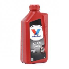 Valvoline FIAT PUNTO Gearbox oil and transmission oil (866890)