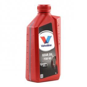 Valvoline FIAT PUNTO Gearbox oil and transmission oil (866895)