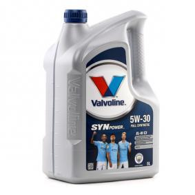 PKW Motoröl VALVOLINE (872375) niedriger Preis