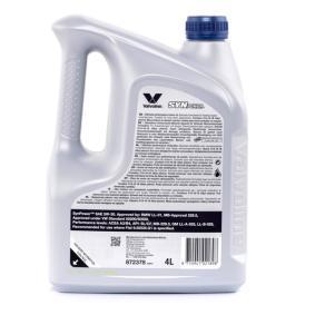 GM LL-A-025 Двигателно масло Valvoline (872378) на ниска цена