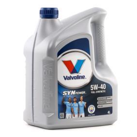 Olio motore per auto VALVOLINE (872381) ad un prezzo basso