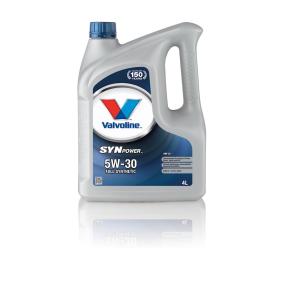 872521 Motorenöl von Valvoline hochwertige Ersatzteile