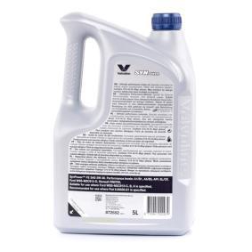 VALVOLINE Olio per auto, Art. Nr.: 872552 online
