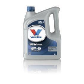 SAE-0W-40 Motor oil Valvoline, Art. Nr.: 872588