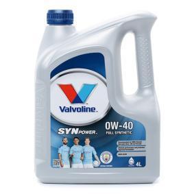 SAE-0W-40 Aceite motor del Valvoline 872588 recambios de calidad