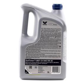 ACEA C4 Valvoline Auto Öl , Art. Nr.: 872771
