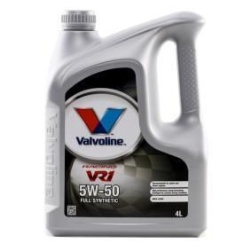 SAE-5W-50 Двигателно масло от Valvoline 873434 оригинално качество