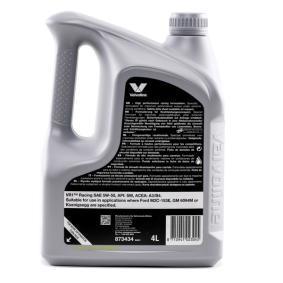 Valvoline Auto Motoröl 5W50 (873434) zu einem billigen Preis