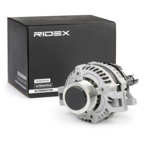 HONDA CIVIC VIII Hatchback (FN, FK) RIDEX Generátor 4G0011 vesz