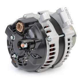 Generátor (4G0011) gyártó RIDEX mert HONDA CIVIC 2.2 CTDi (FK3) 140 LE gyártási év 09.2005, 140 PS nyereségesen