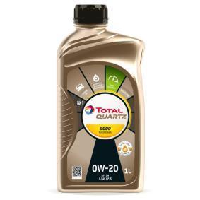 SAE-0W-20 Двигателно масло от TOTAL 3190201 оригинално качество