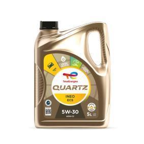 ACEA A5 Moottoriöljy (2198452) merkiltä TOTAL edullisesti tilaus