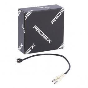407 (6D_) RIDEX Sensor de desgaste de pastillas de frenos 407W0143