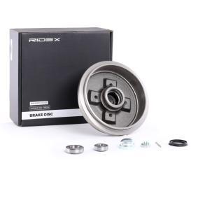 115330192 für VW, AUDI, SKODA, SEAT, Bremstrommel RIDEX (123B0152) Online-Shop