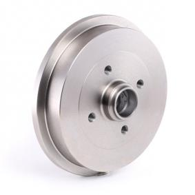 RIDEX 123B0152 Bremstrommel OEM - 1H0501615B AUDI, SEAT, SKODA, VW, VAG, METELLI, A.B.S., KAWE günstig