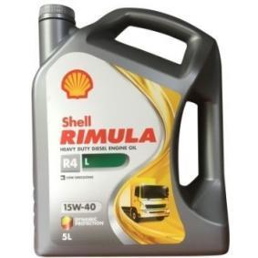 SAE-15W-40 Car oil from SHELL 550047337 original quality
