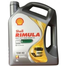 Olio minerale per motore 550047337 dal SHELL di qualità originale