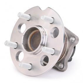 RIDEX Axle shaft bearing 654W0647