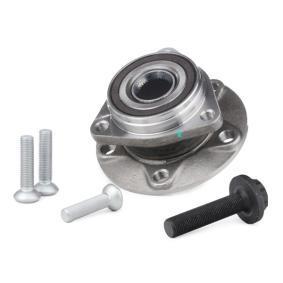 RIDEX 654W0683 Radlagersatz OEM - 8V0498625A AUDI, SEAT, SKODA, VW, VAG günstig