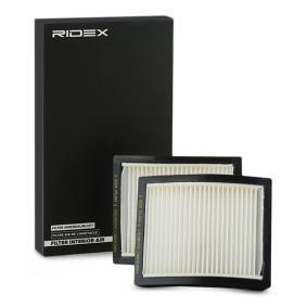 3 Compact (E36) RIDEX Filtro antipolen 424I0377