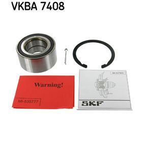SKF Maza de rueda (VKBA 7408)