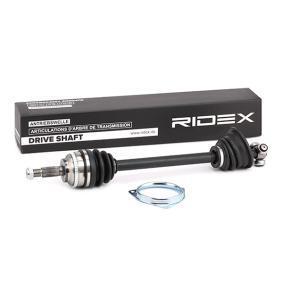 CLIO II (BB0/1/2_, CB0/1/2_) RIDEX Antriebswelle 13D0313