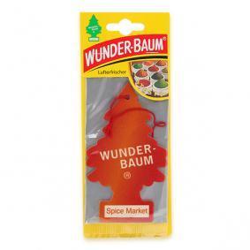 Luchtverfrisser voor autos van Wunder-Baum: online bestellen
