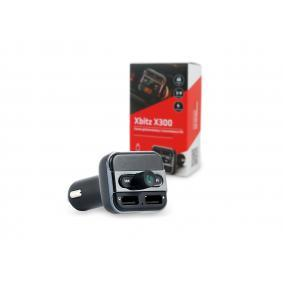 X300 FM transmitter for vehicles
