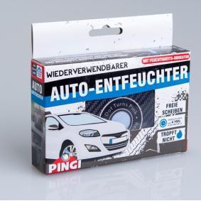 Обезвлажнител за автомобил за автомобили от PINGI: поръчай онлайн