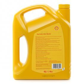ROVER 800 Седан (XS) 820 I/SI (RS) 136 1992 Автомобилни масла SHELL (550039689/4) на ниска цена