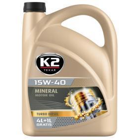 K2 Auto Öl, Art. Nr.: O14D0005 online