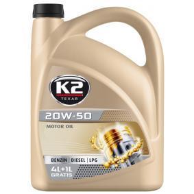 O05B0005 Olio auto dal K2 di qualità originale