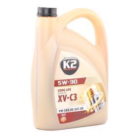 Olio motore per auto K2 (O33V0005) ad un prezzo basso