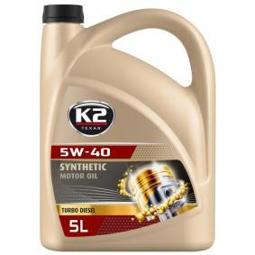 O34D0005 Двигателно масло от K2 оригинално качество
