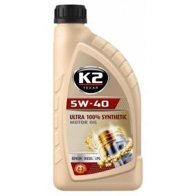 O34V0001 Двигателно масло от K2 оригинално качество