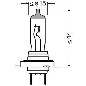 64180L Крушка с нагреваема жичка, фар за дълги светлини от OSRAM качествени части