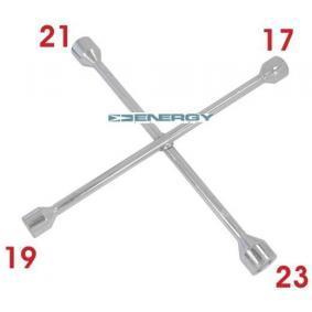 Klucz krzyżowy do samochodów marki ENERGY - w niskiej cenie