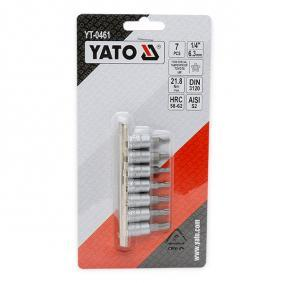 Zestaw kluczy nasadowych YT-0461 YATO