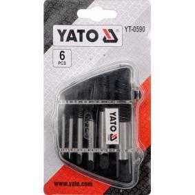 YT-0590 Kit de extractores de pernos de YATO herramientas de calidad