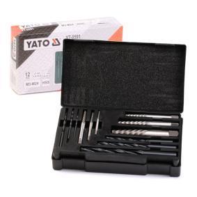 Kit de extractores de pernos YT-0591 YATO