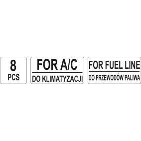 YT-0630 Entriegelungswerkzeug, Klimaanlagen- / Kraftstoffleitung von YATO Qualitäts Werkzeuge