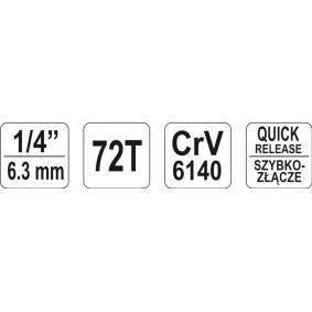 YATO Klucz zapadkowy (grzechotka) (YT-0730) w niskiej cenie