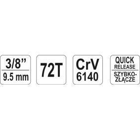 YATO Klucz zapadkowy (grzechotka) (YT-0731) w niskiej cenie