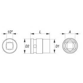 YATO Cubos insertables YT-1003 tienda online