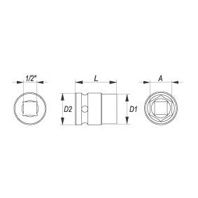YATO Cubos insertables YT-1004 tienda online