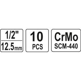 YT-1025 Steckschlüsselsatz von YATO Qualitäts Werkzeuge