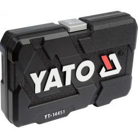 YT-14451 Steckschlüsselsatz von YATO Qualitäts Werkzeuge