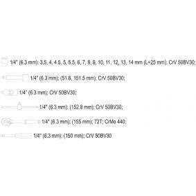 YT-14491 Steckschlüsselsatz günstig