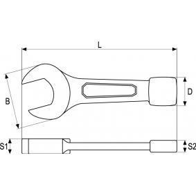 YATO Schlaggabelschlüssel YT-1615 Online Shop